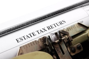 Estate tax return
